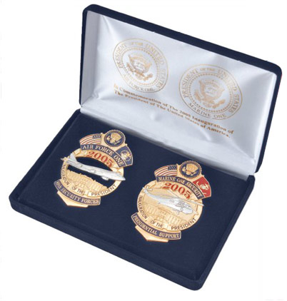 The Official Air Force One and Marine One Badges