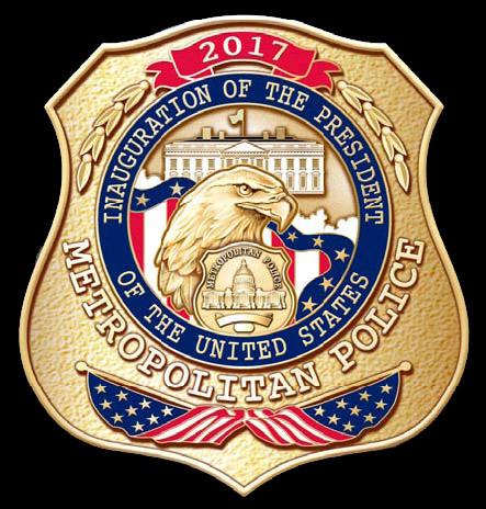 D C  Metropolitan Police Department 58th Presidental
