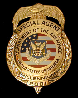 Afosi badges and lapel pins for sale from collinson enterprises afosi badge publicscrutiny Choice Image