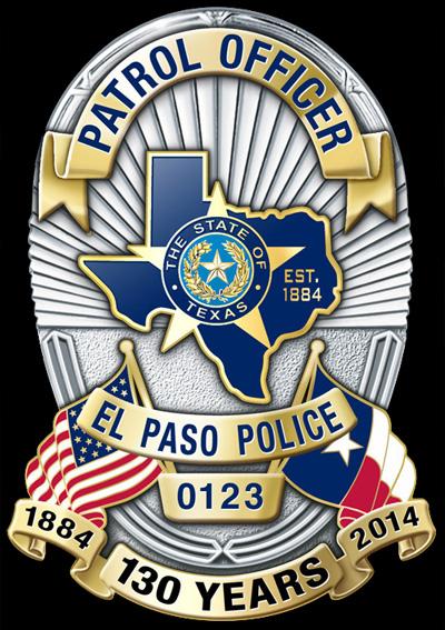 El Paso Police Special Purpose Anniversary/Memorial Badge