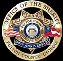 Fulton County Georgia Sheriff's Office 160th Anniversary Badge Set