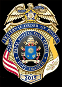 Fraternal Order of Police Papal Protection Detail Badge