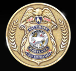 Baltimore County Police 135th Anniversary Coin