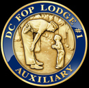 DC FOP Lodge #1 Auxiliary Coin