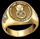 Air Force Security Forces Association Ring