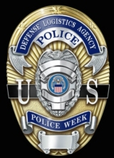 Defense Logistics Agency Police Week Badge