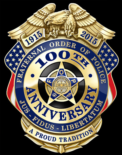 Fraternal Order of Police 100th Anniversary Badge