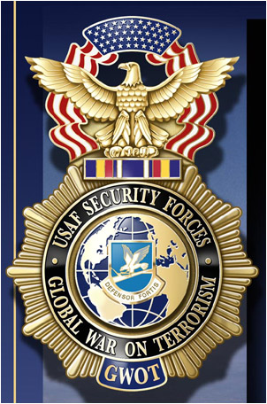 USAF Security Forces GWOT badge