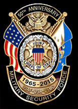 Joint Chiefs of Staff 50th Anniversary Badge