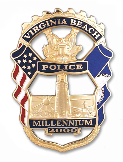 Custom Design Police Badges from Collinson Enterprises