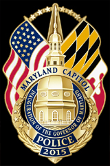Maryland Gubernatorial Inauguration 2015 Commemorative Badge