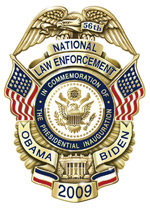 NLEOMF 56th Presidential Inaugural Commemorative Badge