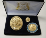Philadelphia Police Department 215th Anniversary Badge Set