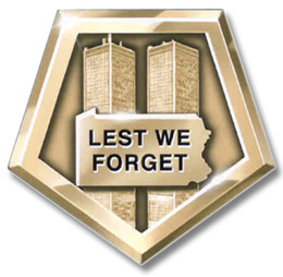 Lest We Forget lapel pin