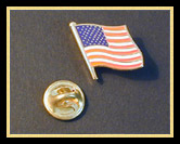 U.S. Flag Lapel Pin (gold-plated)