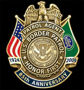 U.S. Border Patrol 85th Anniversary Badge
