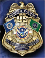 U.S. Border Patrol Commemorative Badge