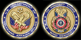 United States Veterans Affairs Police 57th Presidential Inauguration  Coin