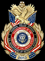 United States Veterans Affairs Police 57th Presidential Inauguration Badge Set